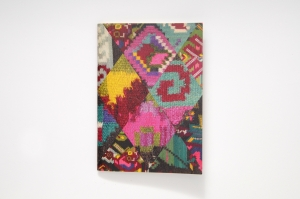 Notebook with Kilim Pattern II