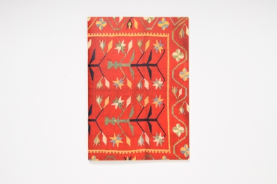 Colouring Notebook with Kilim Pattern