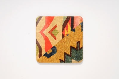 Coaster with Kilim Pattern II