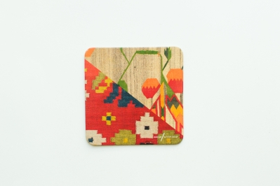 Coaster with Kilim Pattern III