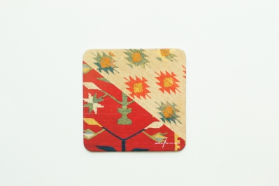 Coaster with Kilim Pattern IV
