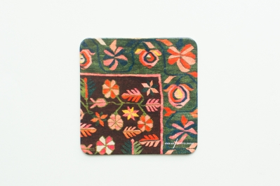 Coaster with Kilim Pattern V