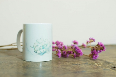 Coffee Mug. Grapes