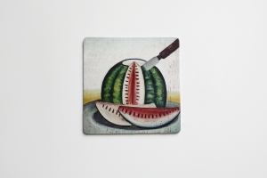 Coaster with Watermelon 3
