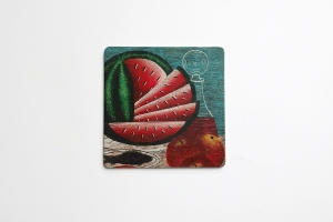 Coaster with Watermelon 4