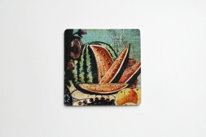 Coaster with Watermelon 5