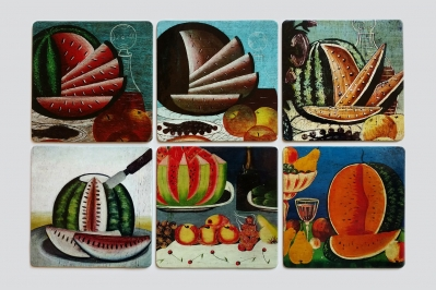 Coaster set «Watermelons»
